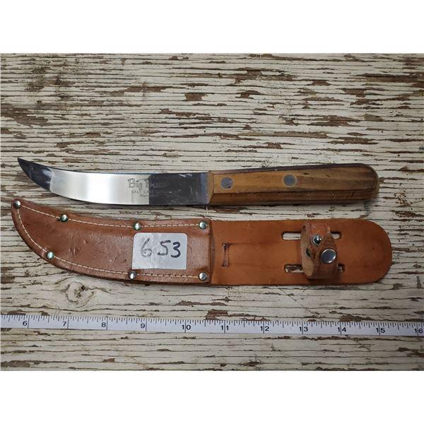 BIG BUCK KNIFE W/ SHEATH