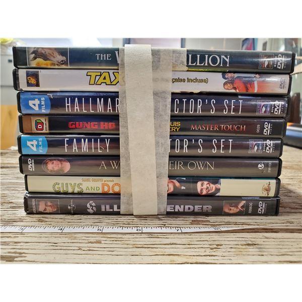 8 DVD'S
