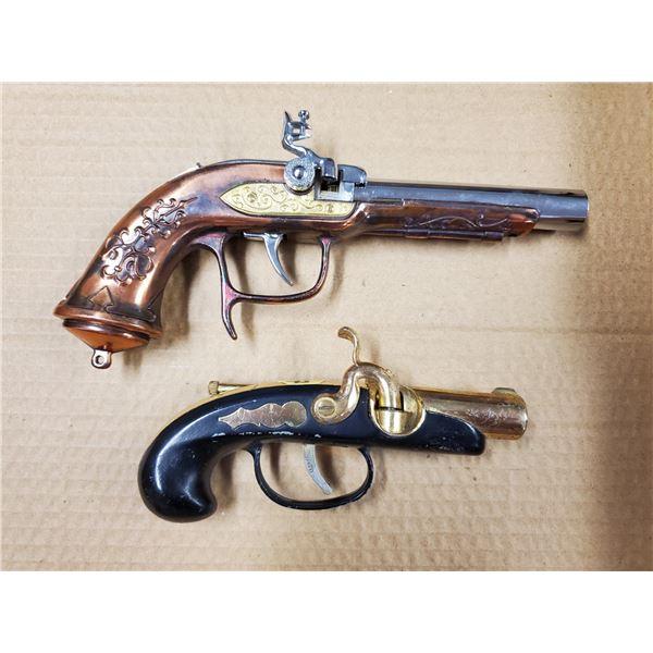2 LIGHTER CAP GUNS