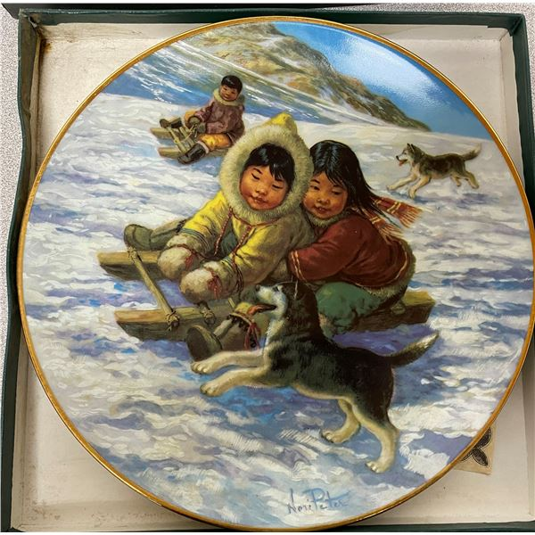 """Anna Perenna """"The Race"""" Collector Plate"""