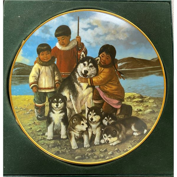 """Anna Perenna """"Proud Mother"""" Collector Plate"""