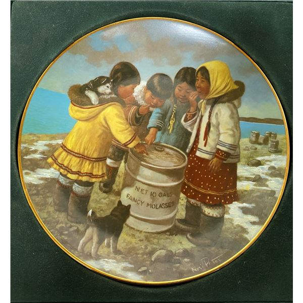 """Anna Perenna """"We Like It"""" Collector Plate"""