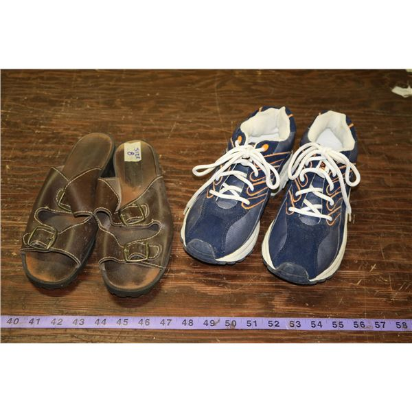 Two Pairs Footwear, Both Size 8