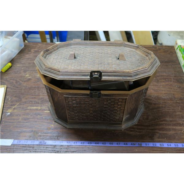 Vintage Container + Contents