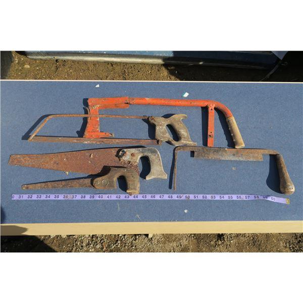 Lot Misc. Saws/Tools