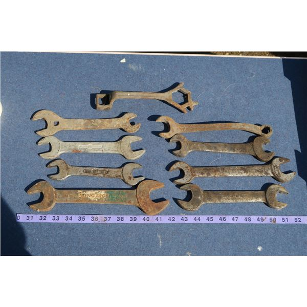 Lot Misc. Wrenches/Tools