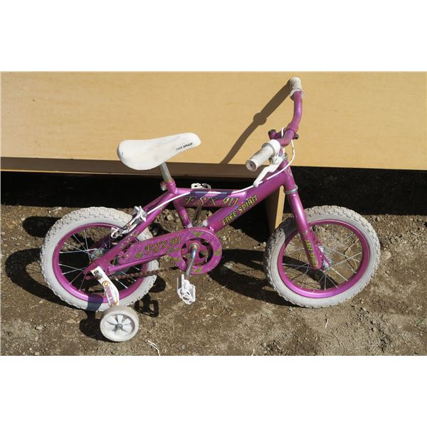 Kids Bicycle w/ Training Wheels