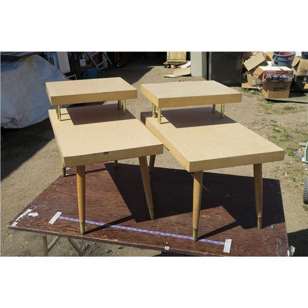 2 Vintage End/Side Tables