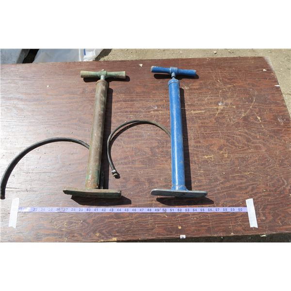 Two Hand Tire Pumps
