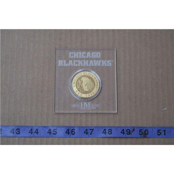 Blackhakws Collectible Coin