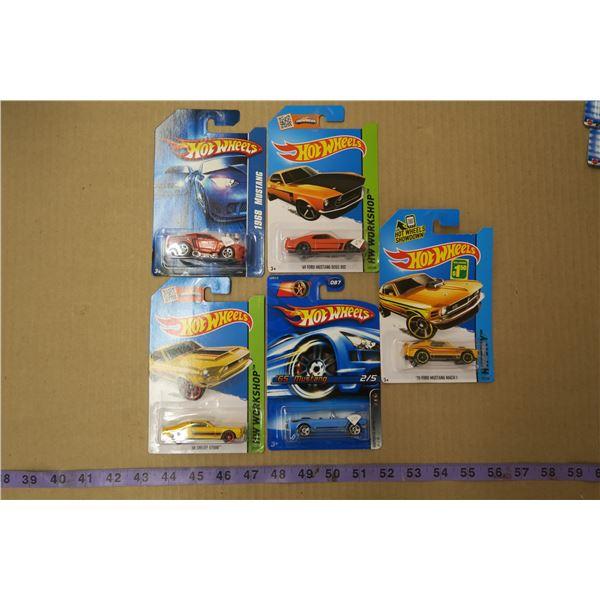 Lot of 5 Hot Wheels Cars