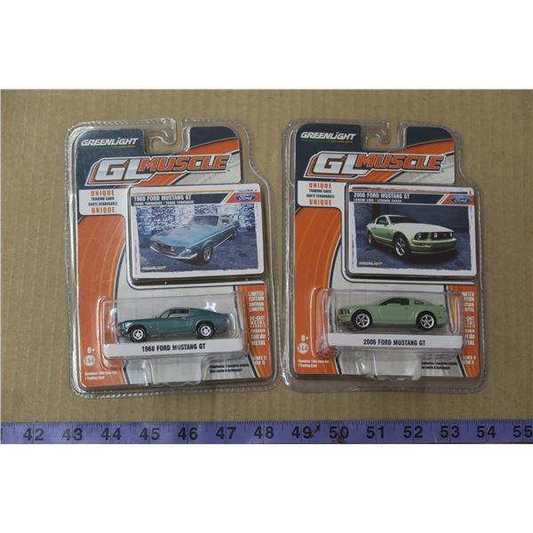 2 Matchbox Mustang Cars