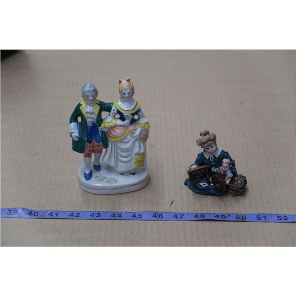 Made In Occupied Japan Figurine + Other Figurine