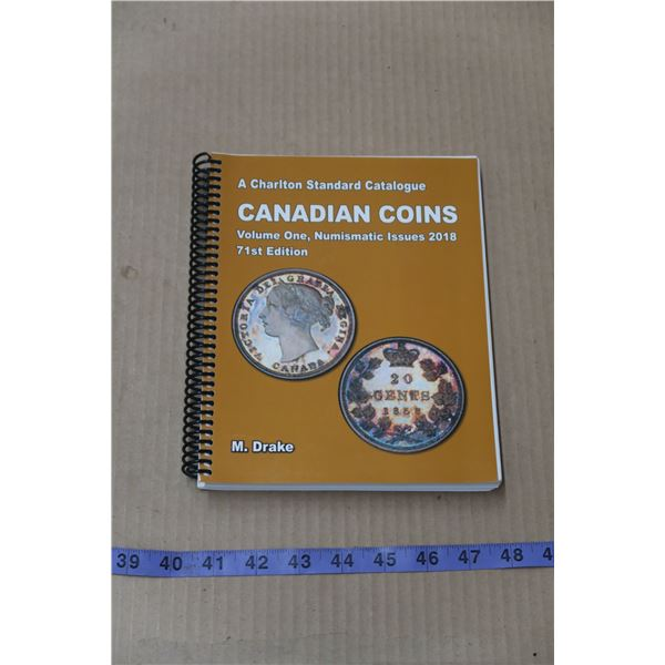 Canadian Coin Book by M. Drake