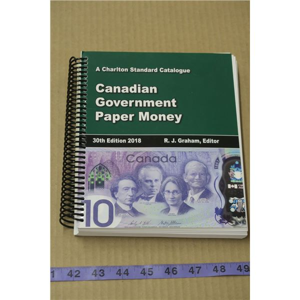 Canadian Paper Money Book by M. Drake