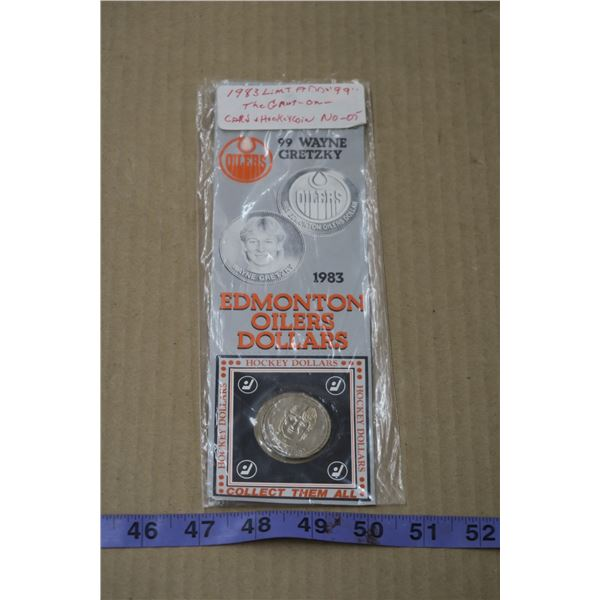 1983 Gretzky Oilers Coin