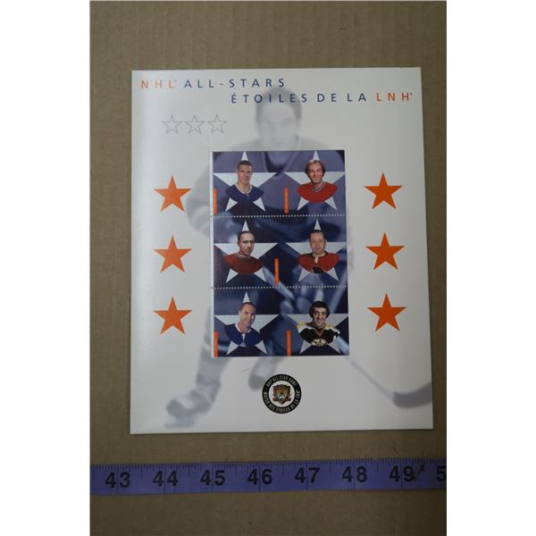 NHL 2002 All Stars Stamps