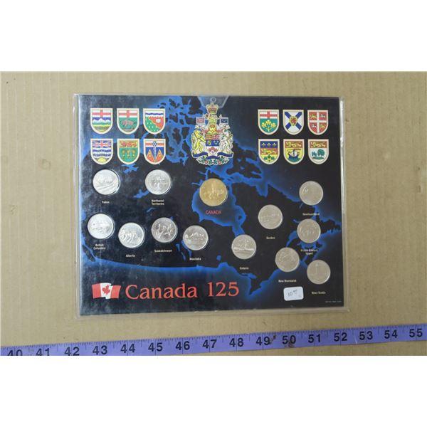 Canada 125 Proof Set