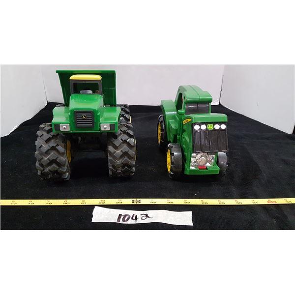 2 John Deere Toys