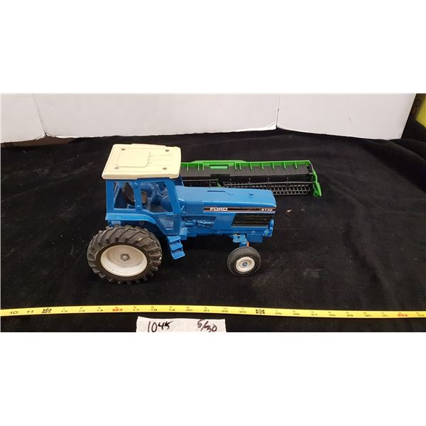 Ford Toy Tractor & Toy Combine Header