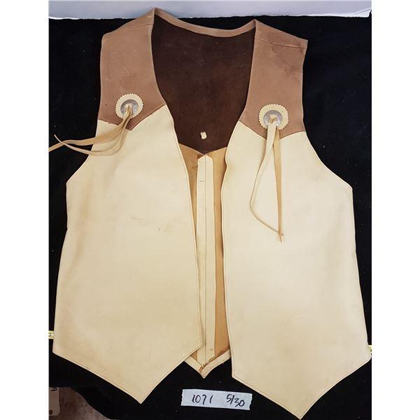 Deer Skin Vest ( Hand Made)