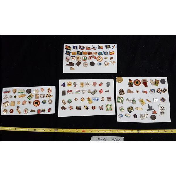Lot Various Pins