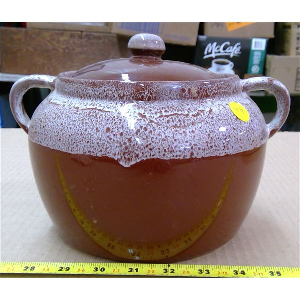 Brown Bean Pot