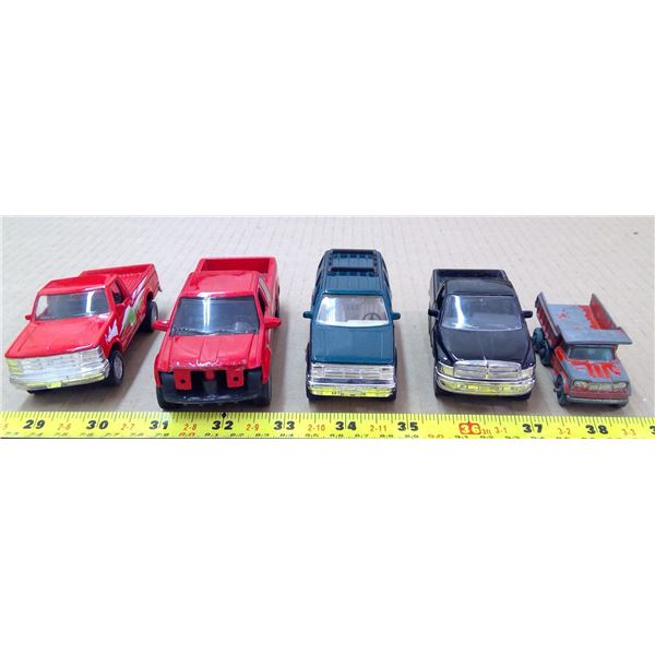 Toy Metal Trucks - 1 red Ford F250 Series used under licence 08192015...