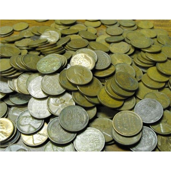 Lot of 1022 Lincoln Wheat Cents