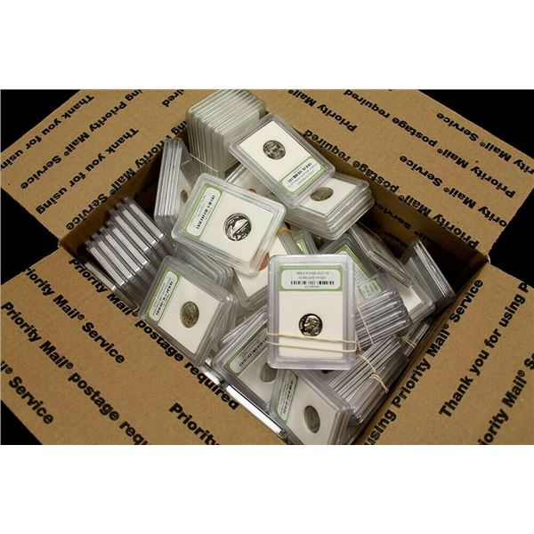 50 pcs. BU and Proof Coins
