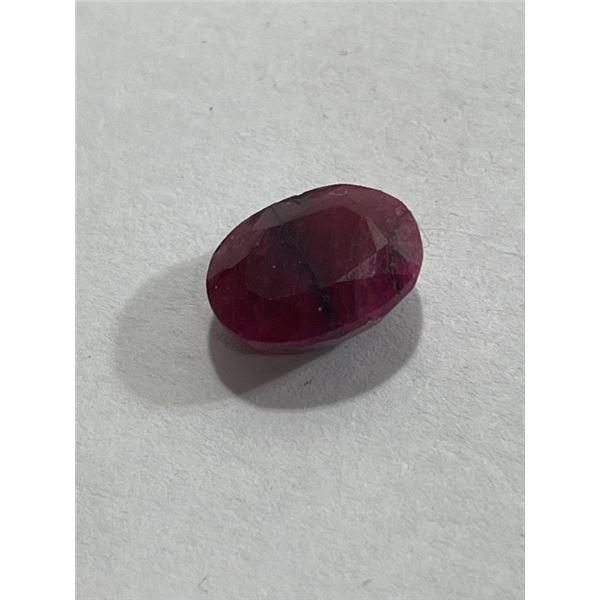 3 ct. Natural Ruby Gemstone