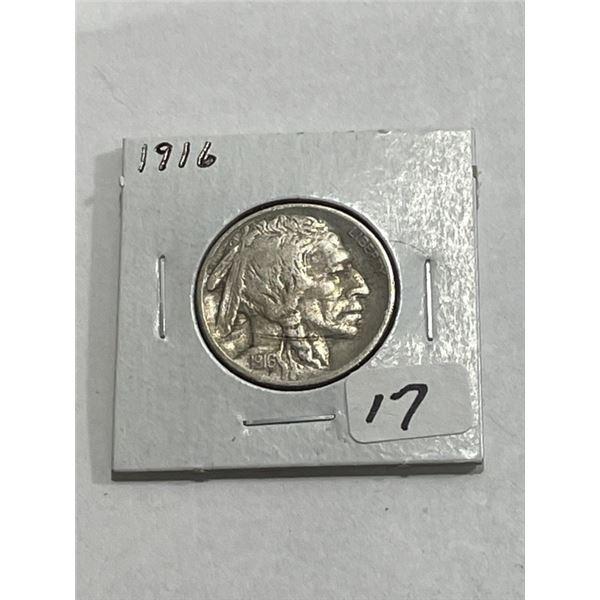 1916 Better Date Buffalo Nickel