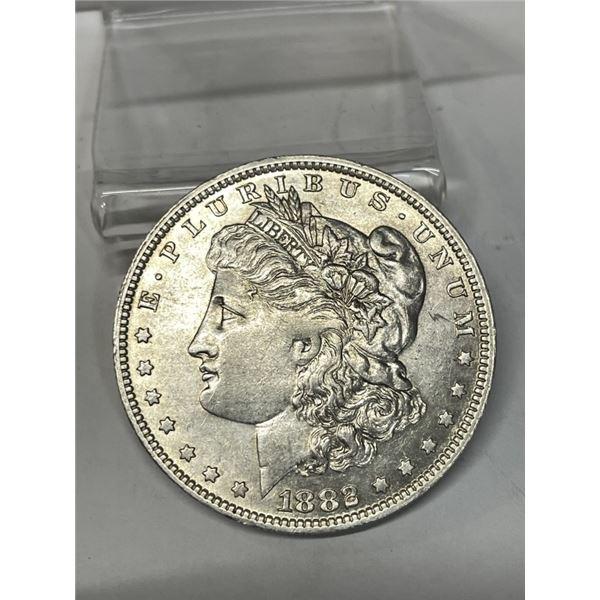 1882 o BU Grade Morgan Silver Dollar