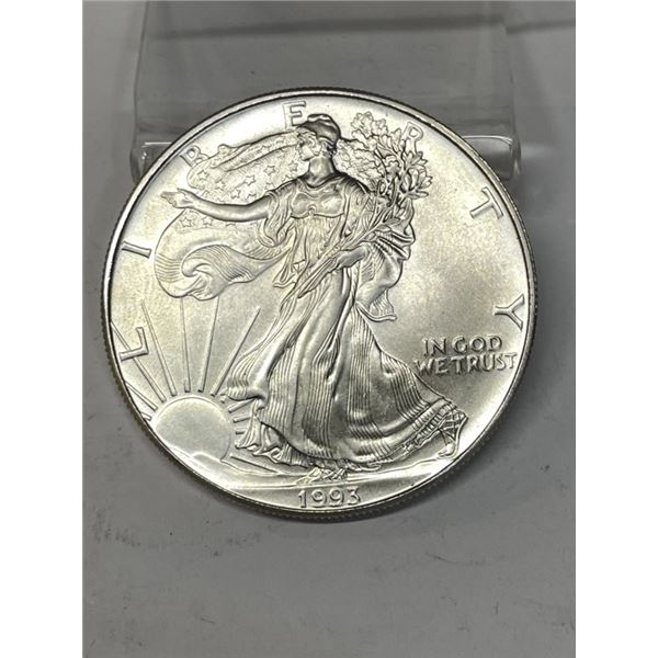 1993 US Silver Eagle Better Date