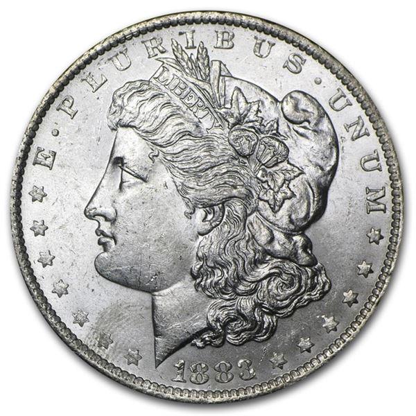 1883 o BU Slight Toning Morgan Dollar
