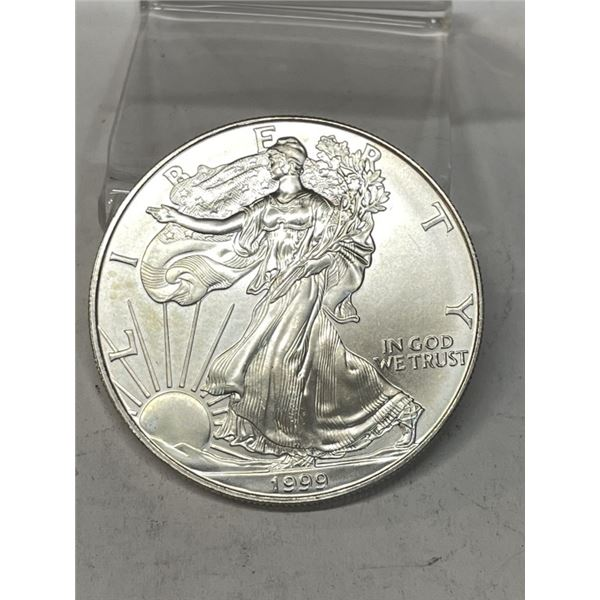 1999 US Silver Eagle