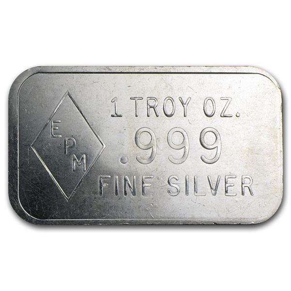 EPM 1 oz. Silver Bar
