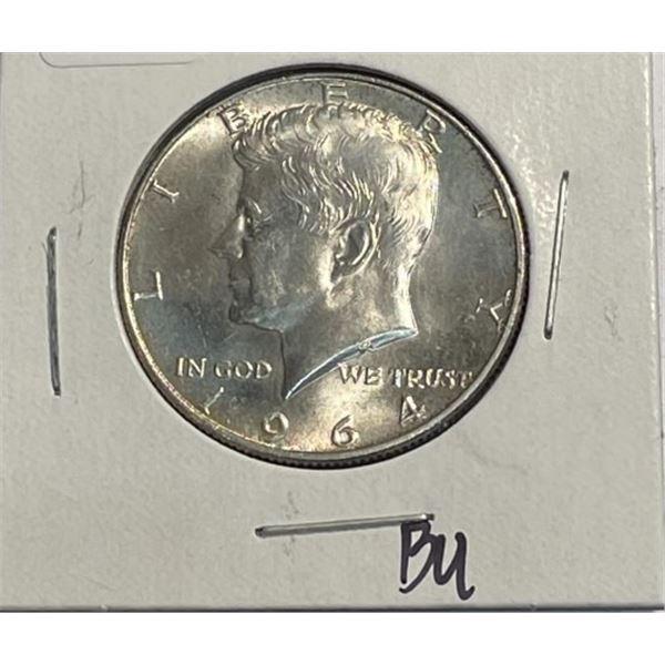1964 BU Grade Kennedy Half Dollar