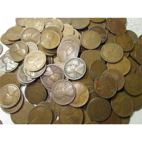 (1000) Lincoln Wheat Back Cents