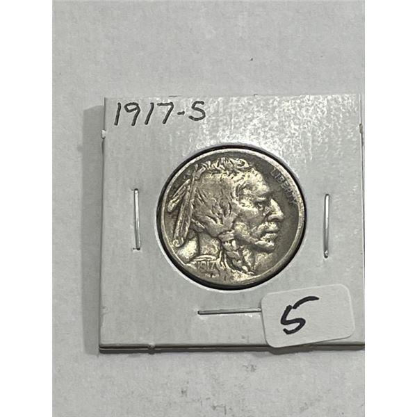 1917 s Key Date Buffalo Nickel
