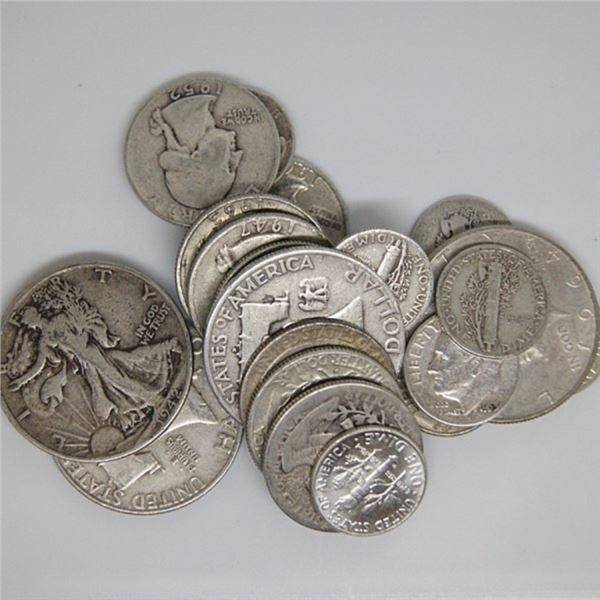 $3 Face Value - 90% Silver Random Mix