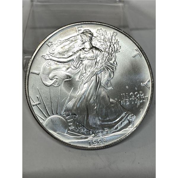 1993 US Silver Eagle