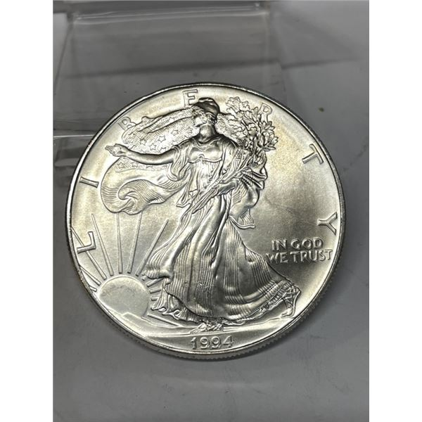 1994 US Silver Eagle - Better Date