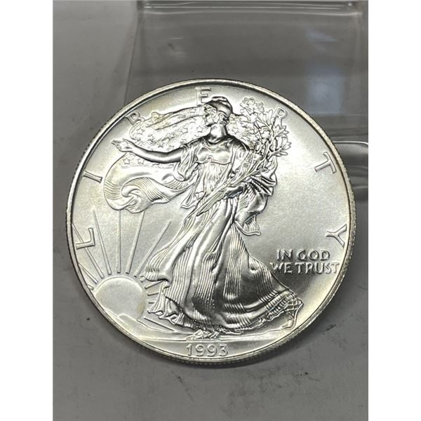 1993 Better Date US Silver Eagle
