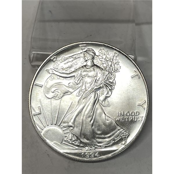 1994 Better Date US Silver Eagle