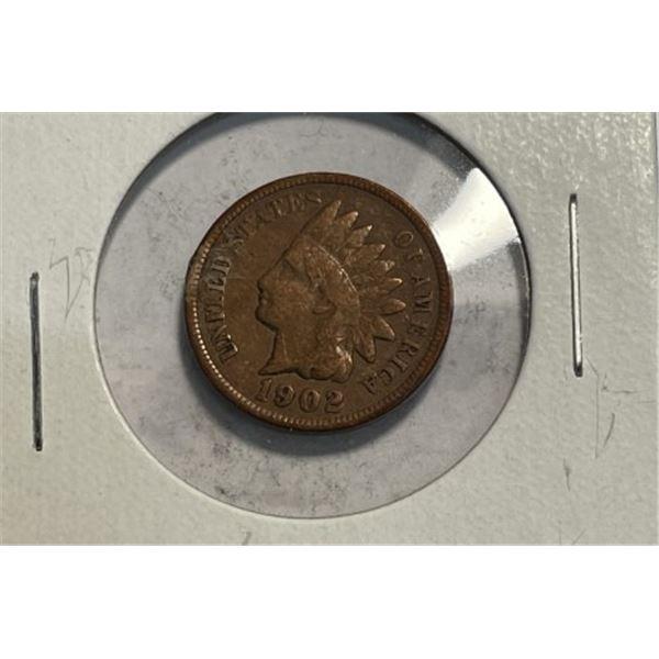 1902 Indian Head Cent VF Grade