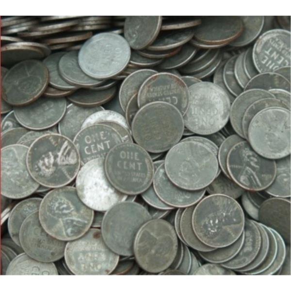 Steel Cent Lot (100)