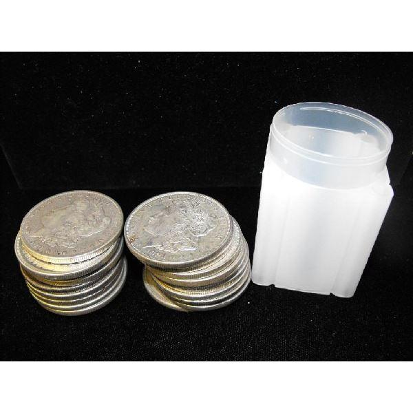 Roll of (20) Morgan Silver Dollars- Random Dates