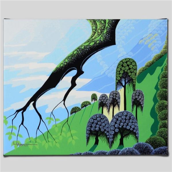 """""""Summer"""" Limited Edition Giclee on Canvas by Larissa Holt, Numbered and Signed."""