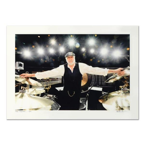 """Rob Shanahan, """"Mick Fleetwood"""" Hand Signed Limited Edition Giclee with Certifica"""